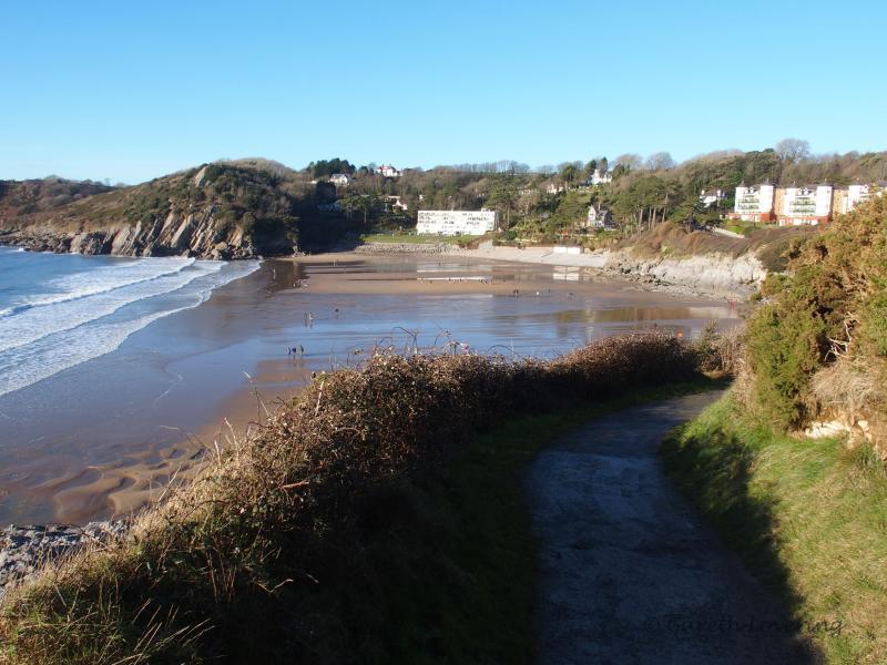 Caswell Bay Swansea, Romantic Breaks South Wales, Wales Cottage Breaks, Tan Yr Eglwys