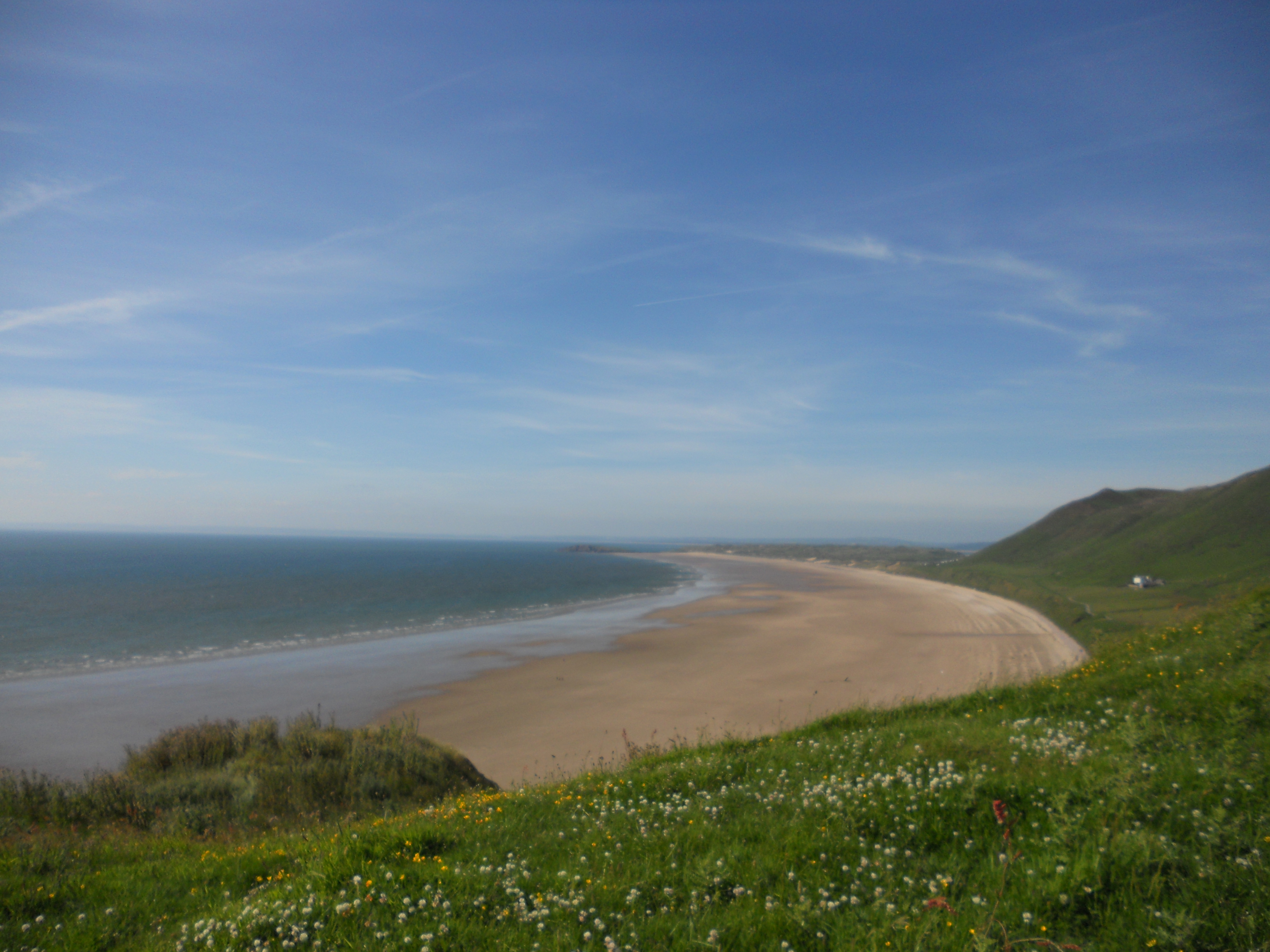 Gower beach, Holiday Cottages South Wales, Holidays In Wales For Couples, Tan Yr Eglwys